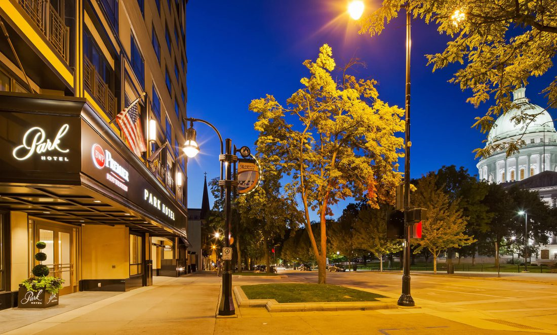 Madison Wi Exactly How Many Square >> Park Hotel Madison Downtown Madison Wi Hotel On The